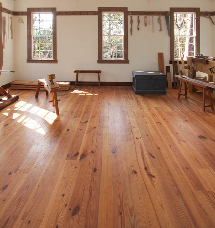 Southern New Heart Pine Flooring Wood Floors Augusta