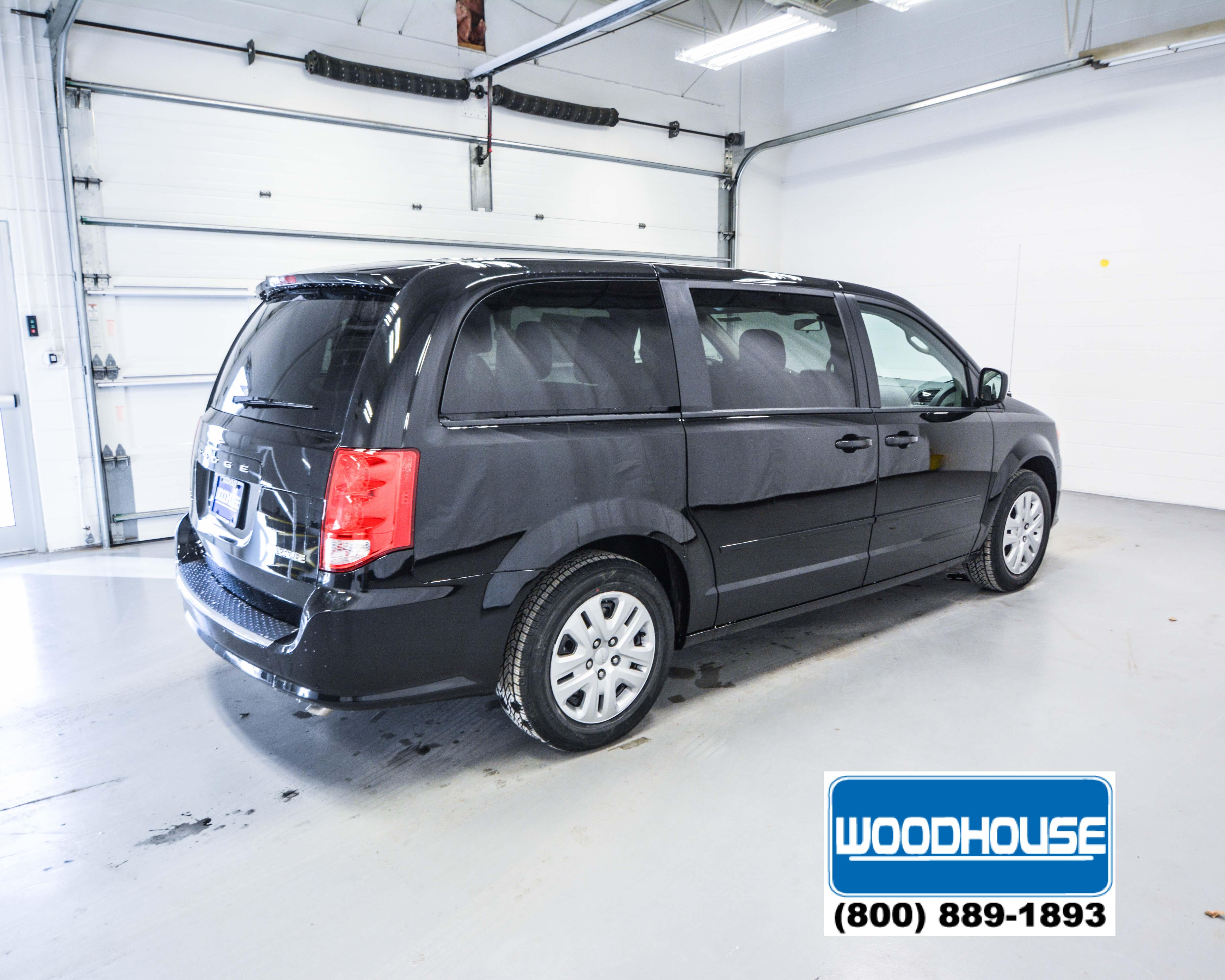 Woodhouse Hail Damage >> Black 2017 Dodge Grand Caravan SE for Sale | Sioux City ...