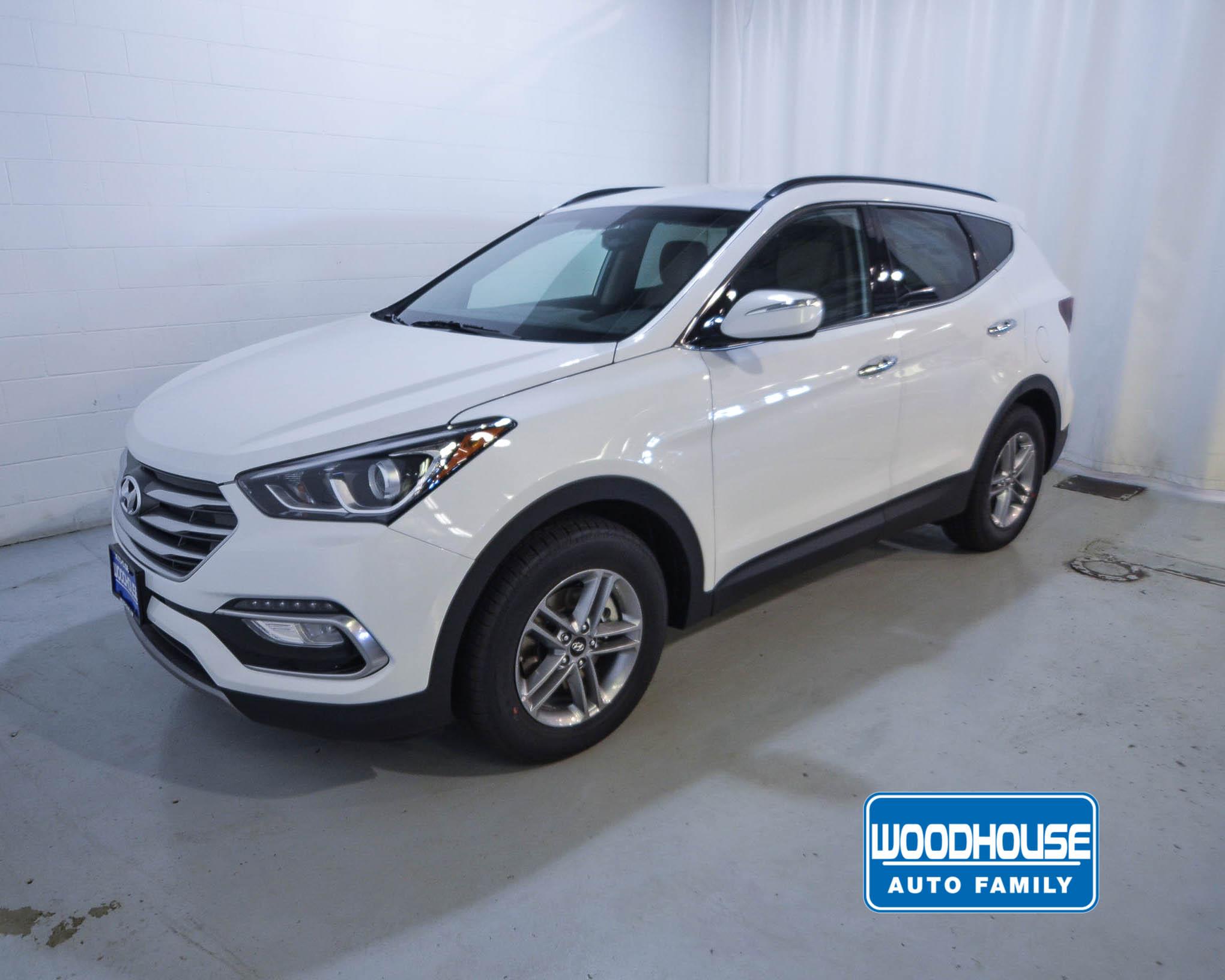 White 2018 Hyundai Santa Fe Sport For Sale Omaha Ne