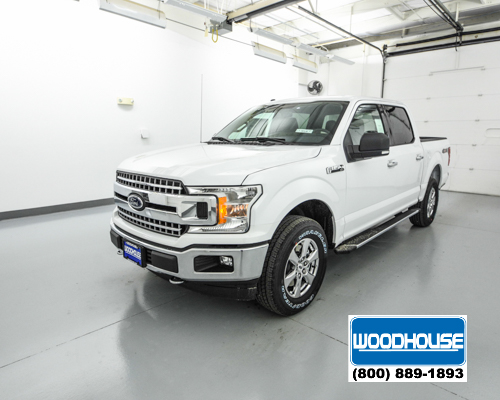 White 2018 Ford F 150 Xlt For Sale Blair Ne Woodhouse