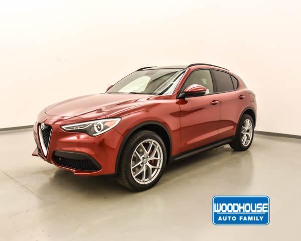 Red 2018 Alfa Romeo Stelvio Ti Sport For Sale Omaha Ne