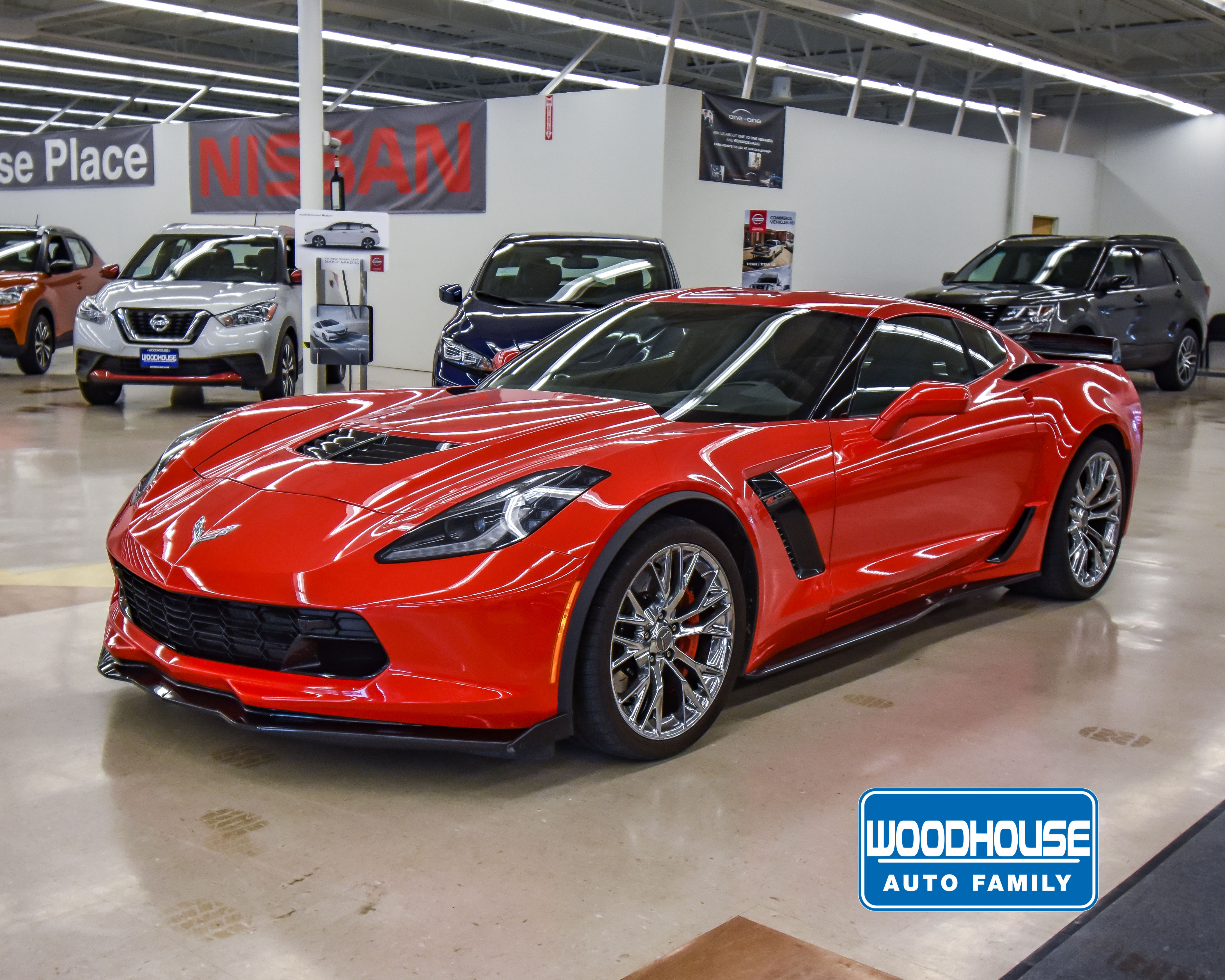 Z06 Corvette For Sale >> Woodhouse Used 2017 Chevrolet Corvette For Sale Nissan Woodhouse