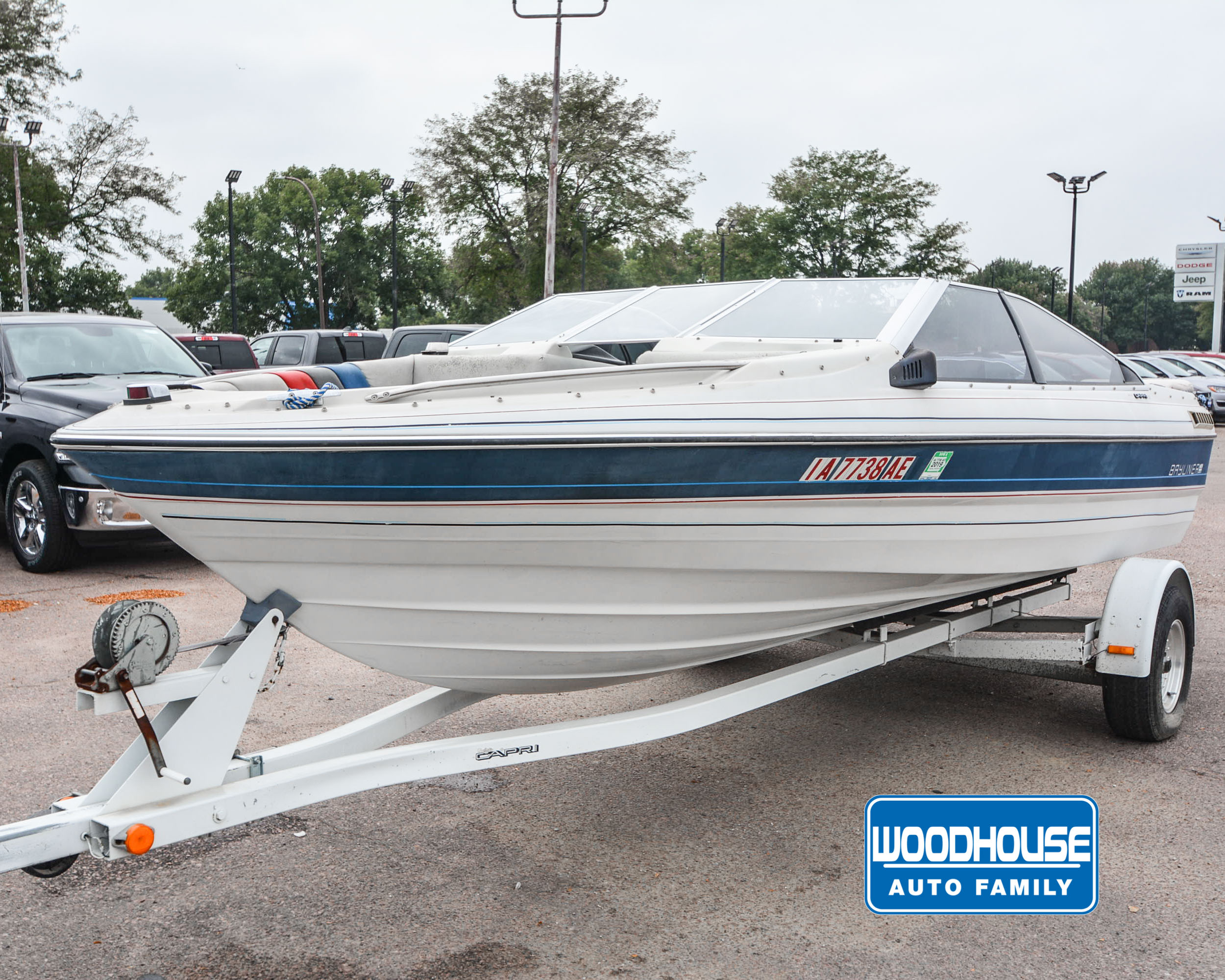 Astounding Woodhouse Used 1987 Bayliner Capri For Sale Chrysler Caraccident5 Cool Chair Designs And Ideas Caraccident5Info