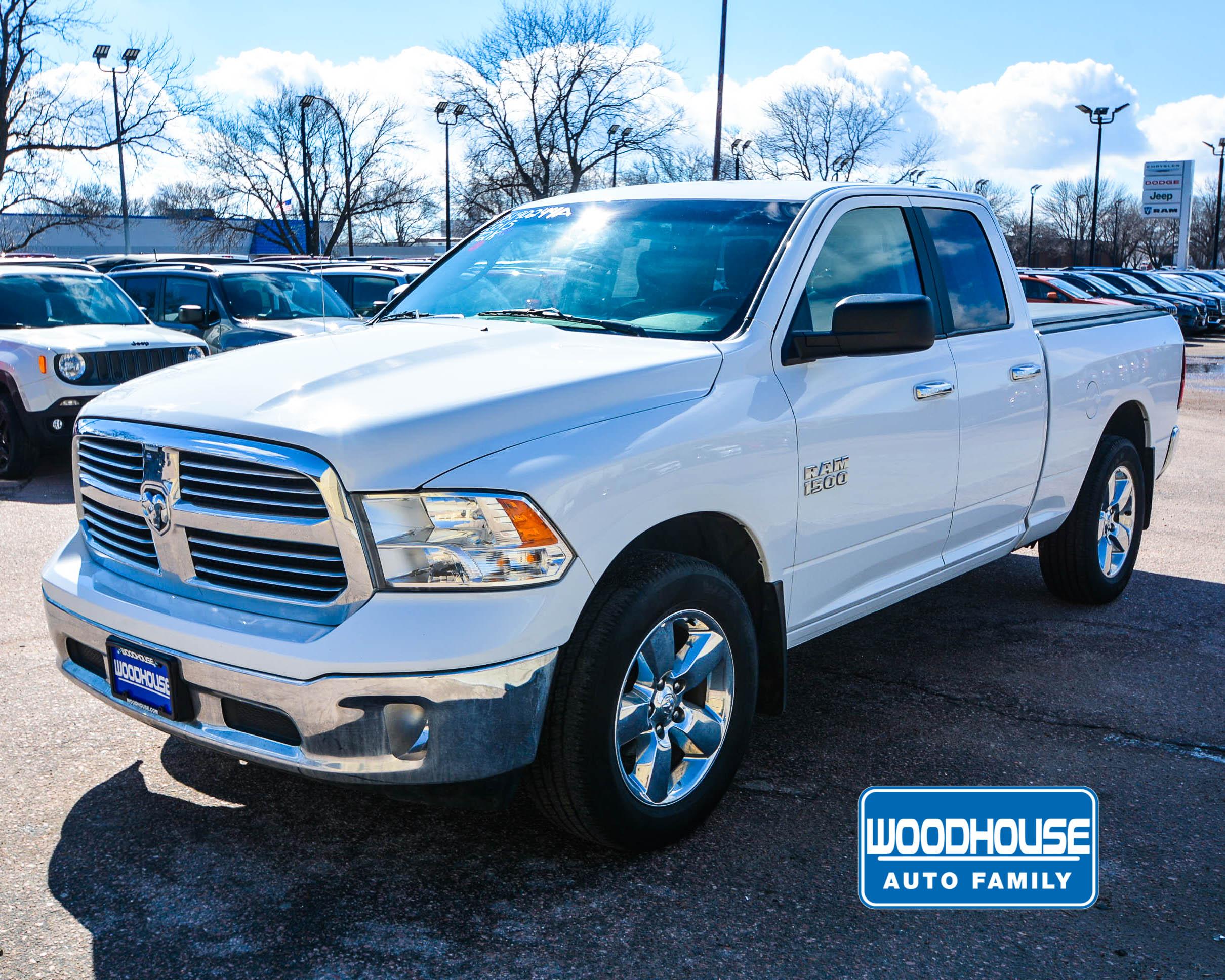 2015 Dodge Truck >> Woodhouse Used 2015 Ram 1500 For Sale Chrysler Dodge