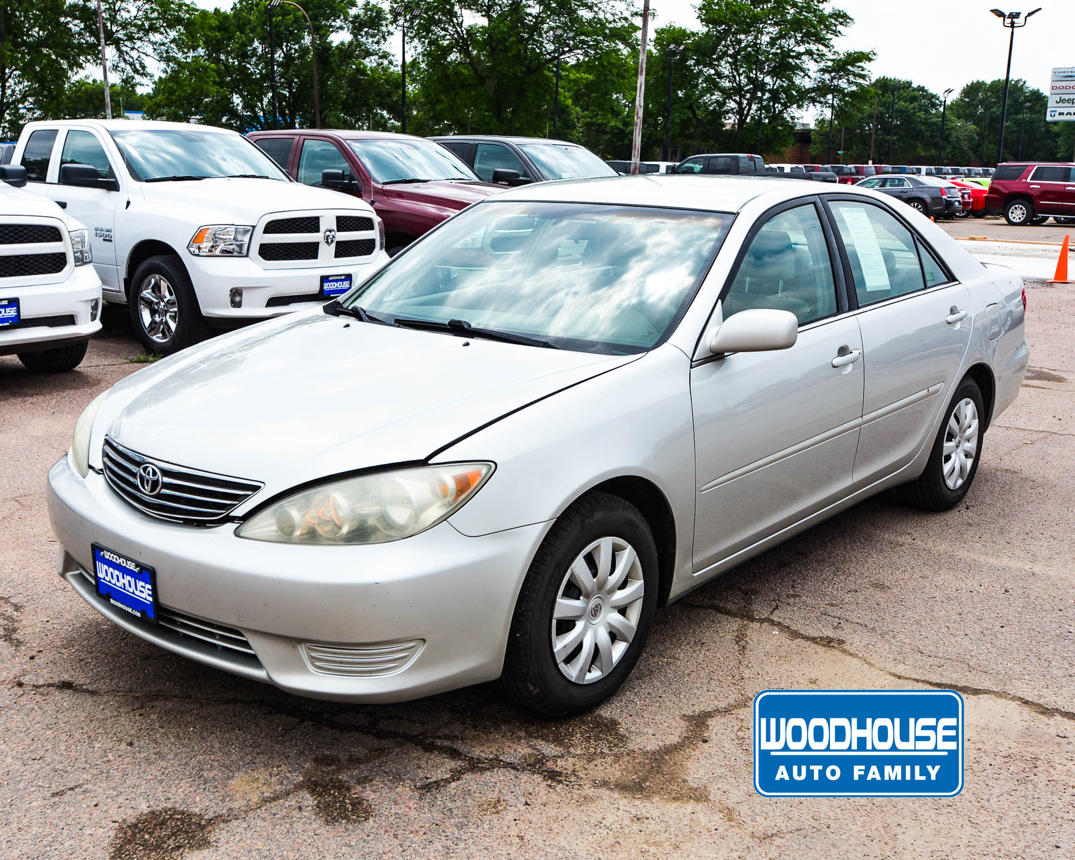 Woodhouse | Used 2005 Toyota Camry For Sale | Chrysler Dodge