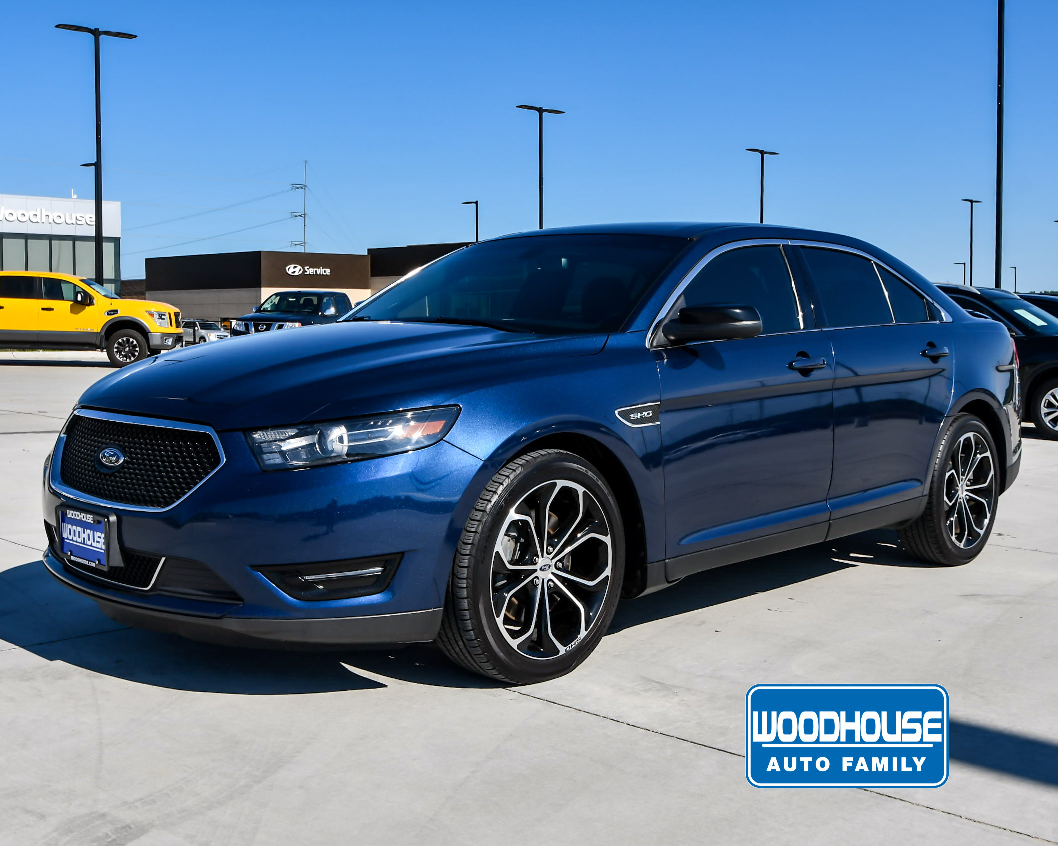 2016 Ford Taurus Sho >> Woodhouse Used 2016 Ford Taurus For Sale Nissan Woodhouse Place