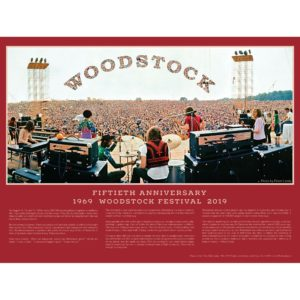 Woodstock Festival 50th Anniversary Poster