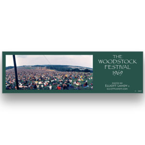 Woodstock Festival bookmarks