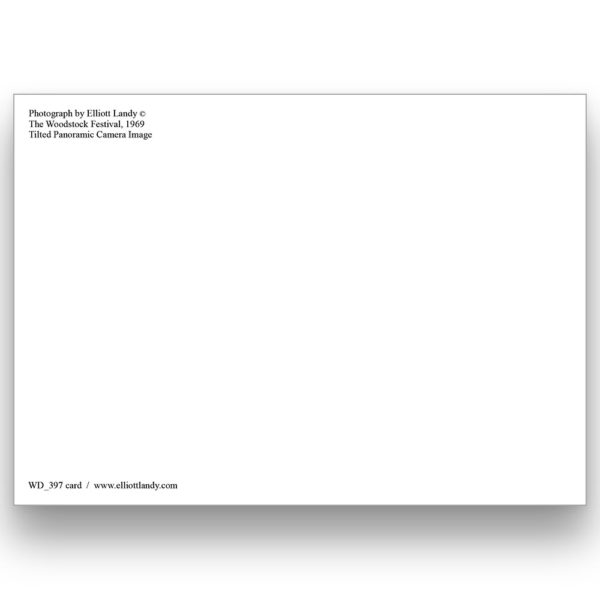 Tilted Panoramic Camera Image Postcard