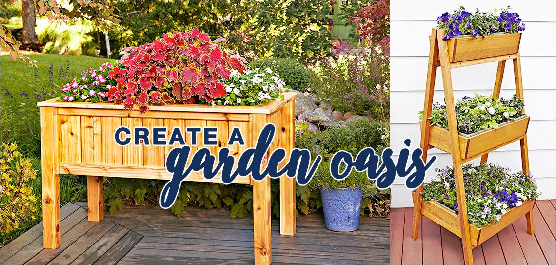 Create a Garden Oasis!