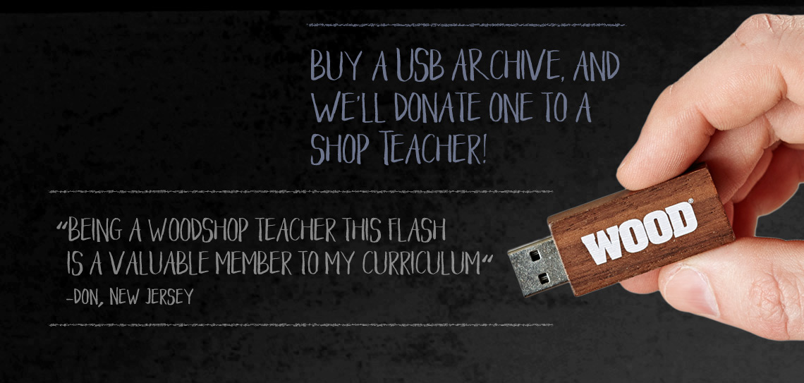 Shop Teacher USB promo