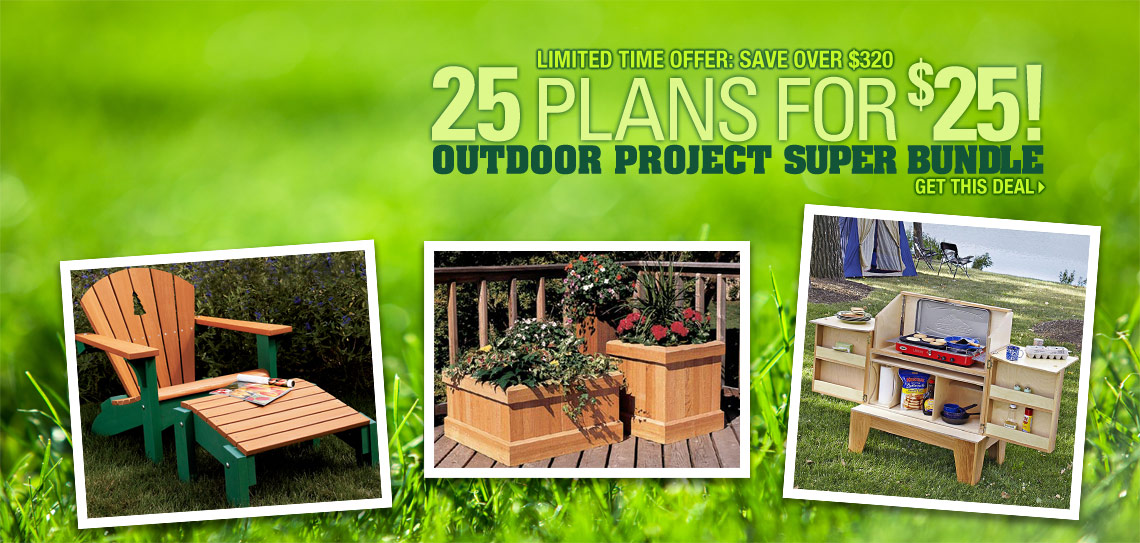 25 for 25 Outdoor Plans
