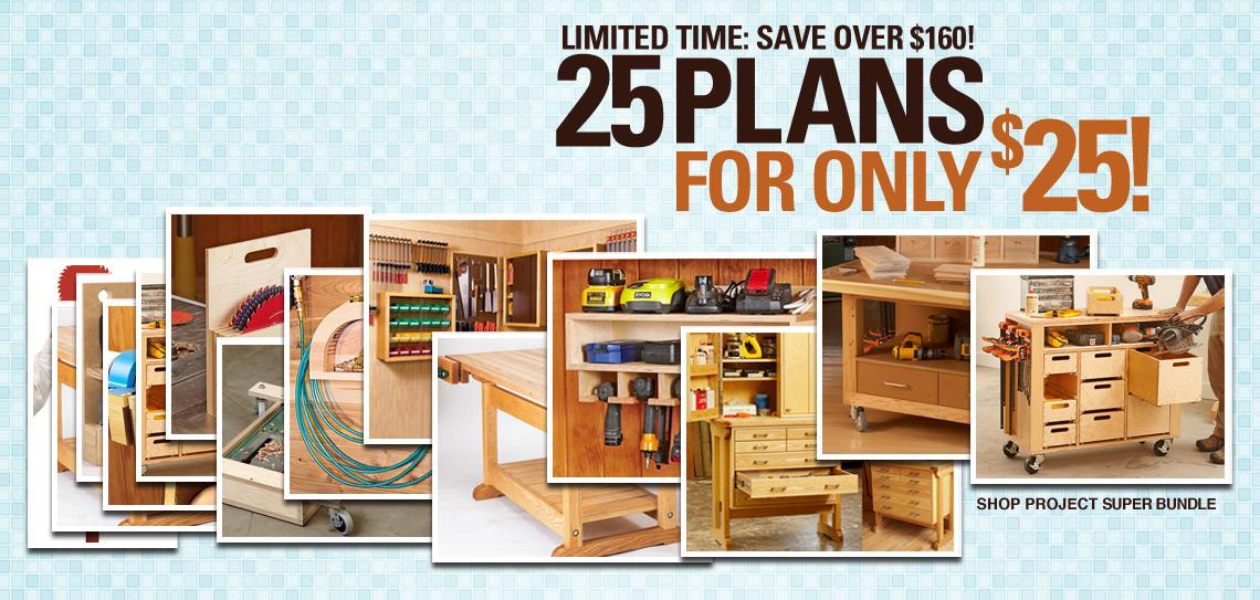 25 for 25 shop plans