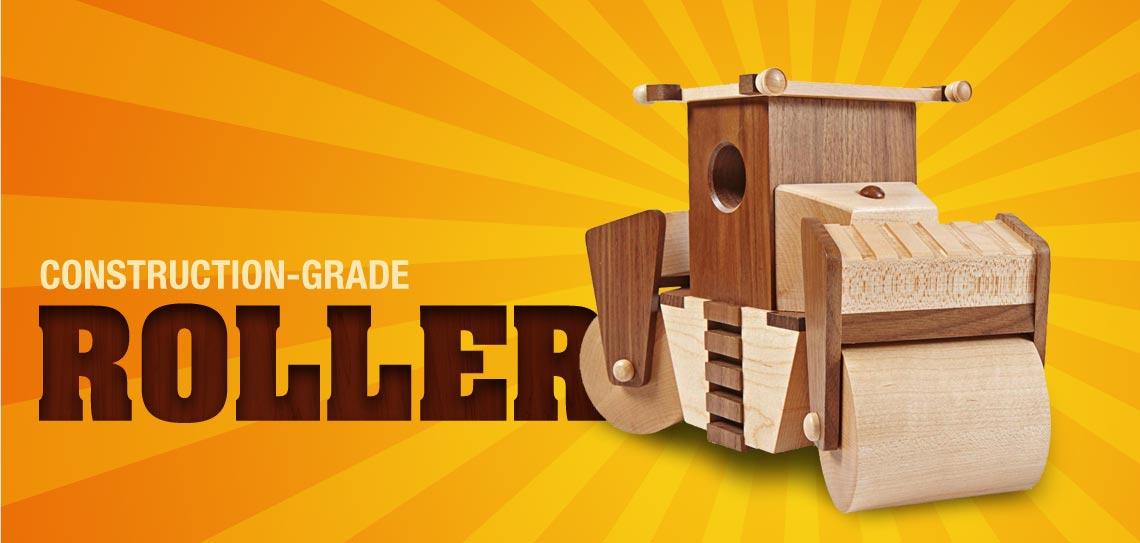 Construction-Grade Roller
