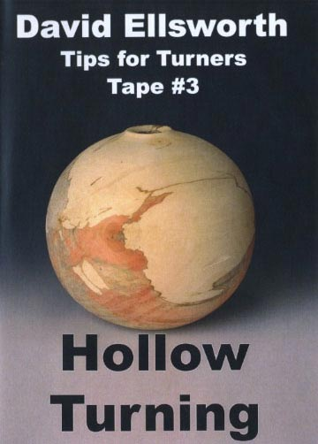 David Ellsworth - Hollow Turning Woodworking Plan, Turning Videos
