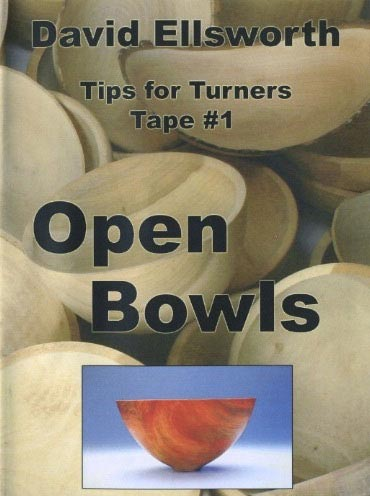 David Ellsworth - Open Bowls Woodworking Plan, Turning Videos