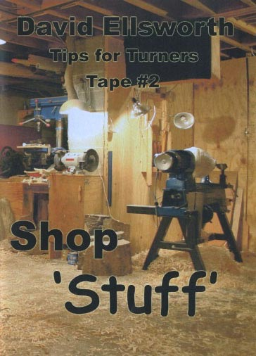 David Ellsworth - Shop Stuff Woodworking Plan, Turning Videos