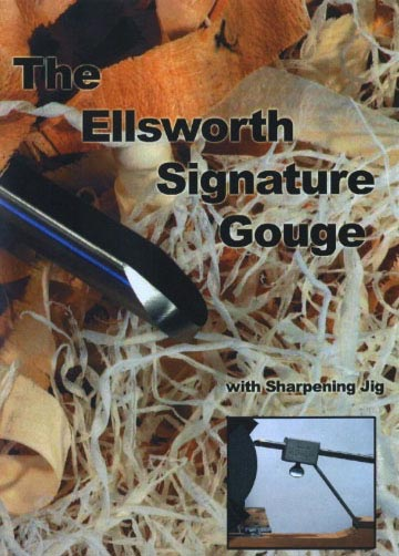 David Ellsworth - The Ellsworth Signature Gouge Woodworking Plan, Turning Videos