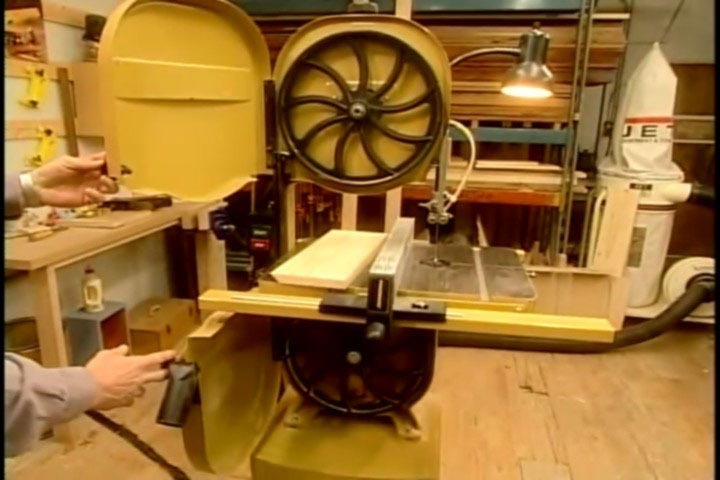 Bandsaw Basics Woodworking Plan, Tool Videos