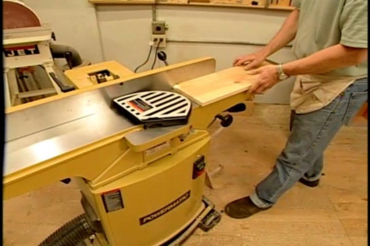 Using a Jointer Planer Woodworking Plan, Tool Videos