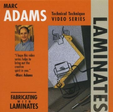 Marc Adams - Fabricating with Laminates Woodworking Plan, Techniques Videos