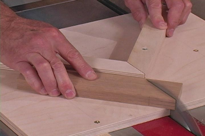 3 Tablesaw Jigs - Downloadable Video