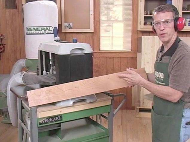 Basic Stock Prep Woodworking Plan, Techniques Videos