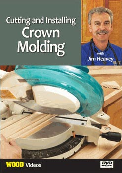 Installing Crown Molding Woodworking Plan, Techniques Videos