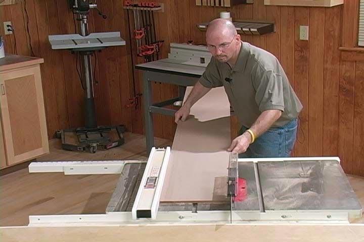 Handling Sheet Goods Woodworking Plan, Techniques Videos