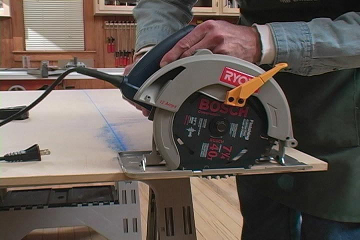 Straightedge Guide for Circular Saw and Router Woodworking Plan, Tool Videos