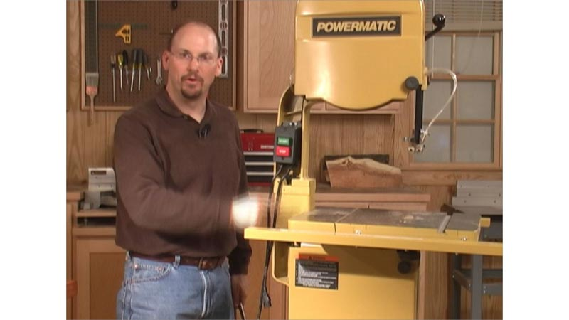 Installing a Bandsaw Riser Block Woodworking Plan, Tool Videos