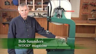 Tensioning a Bandsaw - The Flutter Method Woodworking Plan, Tool Videos