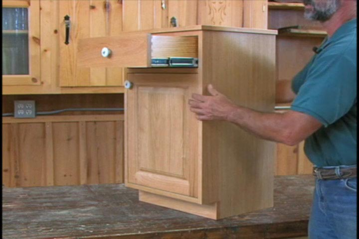 Cabinet Making Techniques, Vol. 1 Woodworking Plan, Techniques Videos