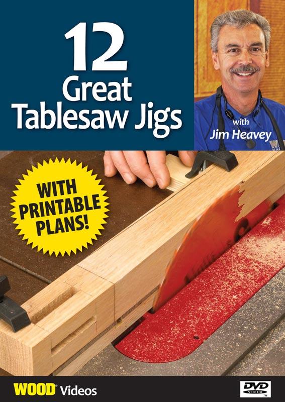 12 Tablesaw Jigs - GR-18-0051