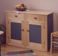 Country Buffet Woodworking Plan, Furniture Cabinets & Storage
