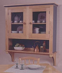 Country Cupboard Woodworking Plan, Furniture Bookcases & Shelving
