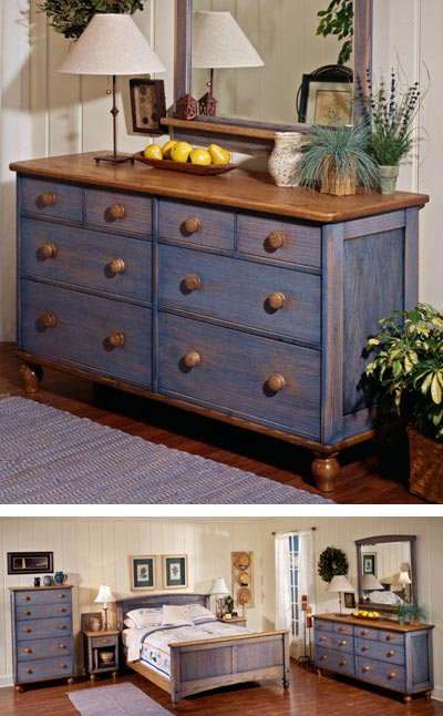 Country-Fresh Dresser Woodworking Plan, Furniture Beds & Bedroom Sets