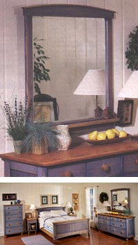 Country-Fresh Dresser Mirror Woodworking Plan, Furniture Mirrors Furniture Beds & Bedroom Sets