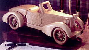 "Auburn ""Boattail"" Speedster Woodworking Plan, Toys & Kids Furniture"