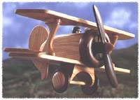 Biplane Woodworking Plan, Toys & Kids Furniture