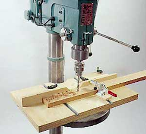 Drill-Press Table Woodworking Plan, Workshop & Jigs Jigs & Fixtures
