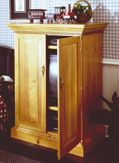 Country Cabinet Woodworking Plan, Furniture Cabinets & Storage
