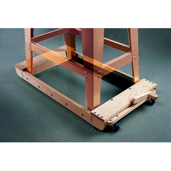 Roll-Around Tool Base: Roll-Around Tool Base Woodworking Plan, Workshop & Jigs Tool Bases & Stands