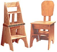 Two-In-One Seat/Step Stool Woodworking Plan, Furniture Seating