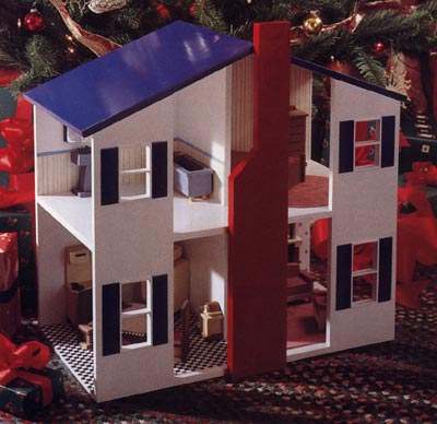 Open House Doll House Woodworking Plan, Toys & Kids Furniture