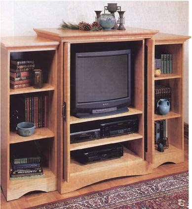 Extravaganza Entertainment Center Woodworking Plan, Furniture Entertainment Centers