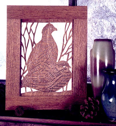 Quail Country Woodworking Plan, Gifts & Decorations Scrollsaw, Carving, & Decorative Projects