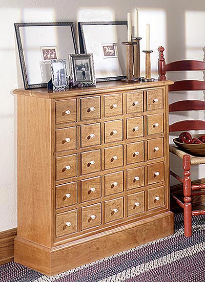Apothecary's Friend Cabinet Woodworking Plan, Furniture Cabinets & Storage