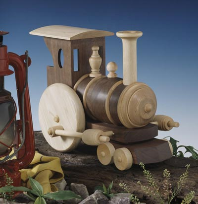 Chubby Choo-Choo Train Woodworking Plan, Toys & Kids Furniture