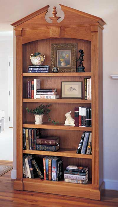 Federal Bookcase Woodworking Plan, Furniture Bookcases & Shelving